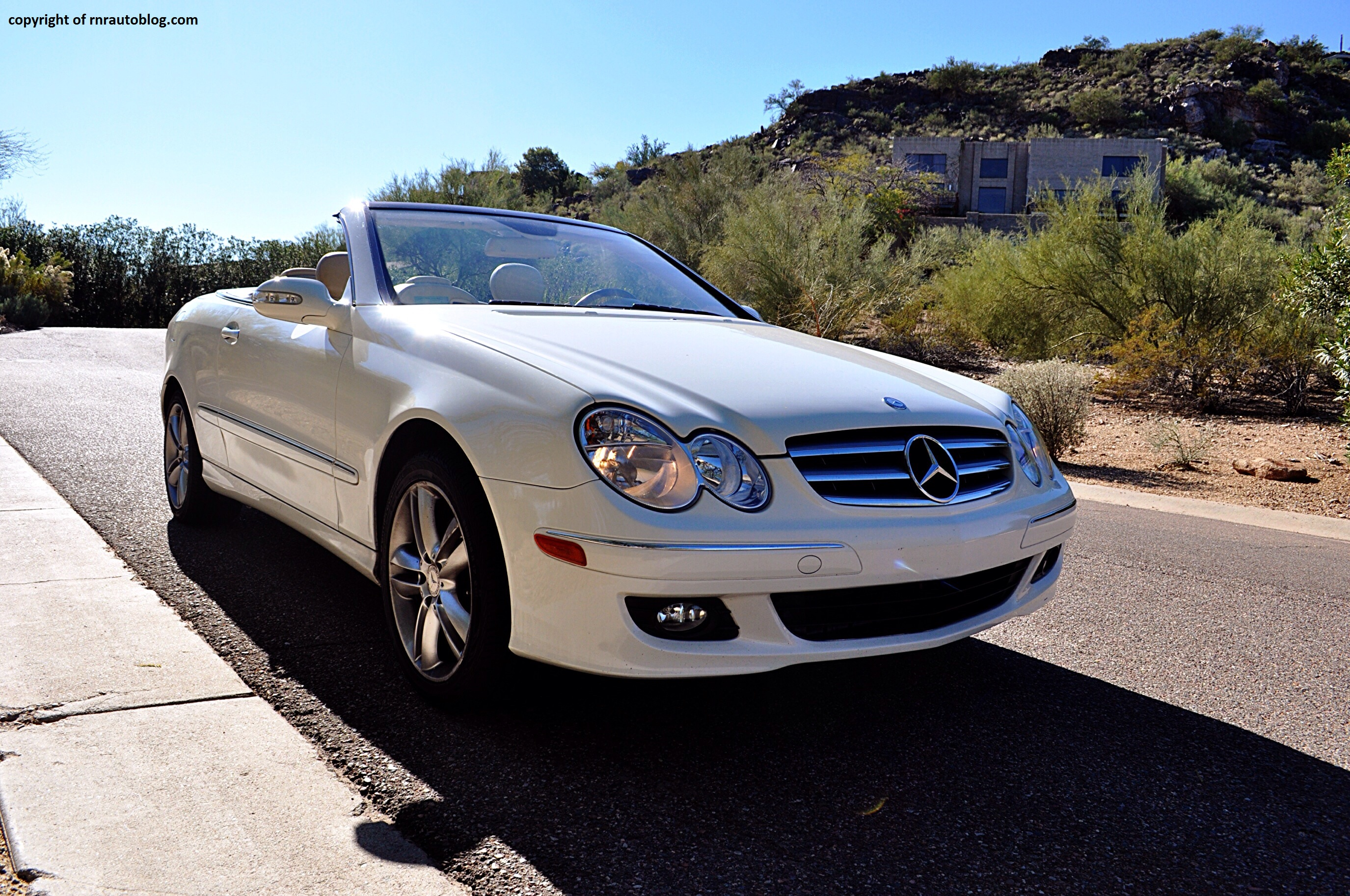 2008 mercedes benz clk350 convertible review rnr for Mercedes benz clk350 convertible
