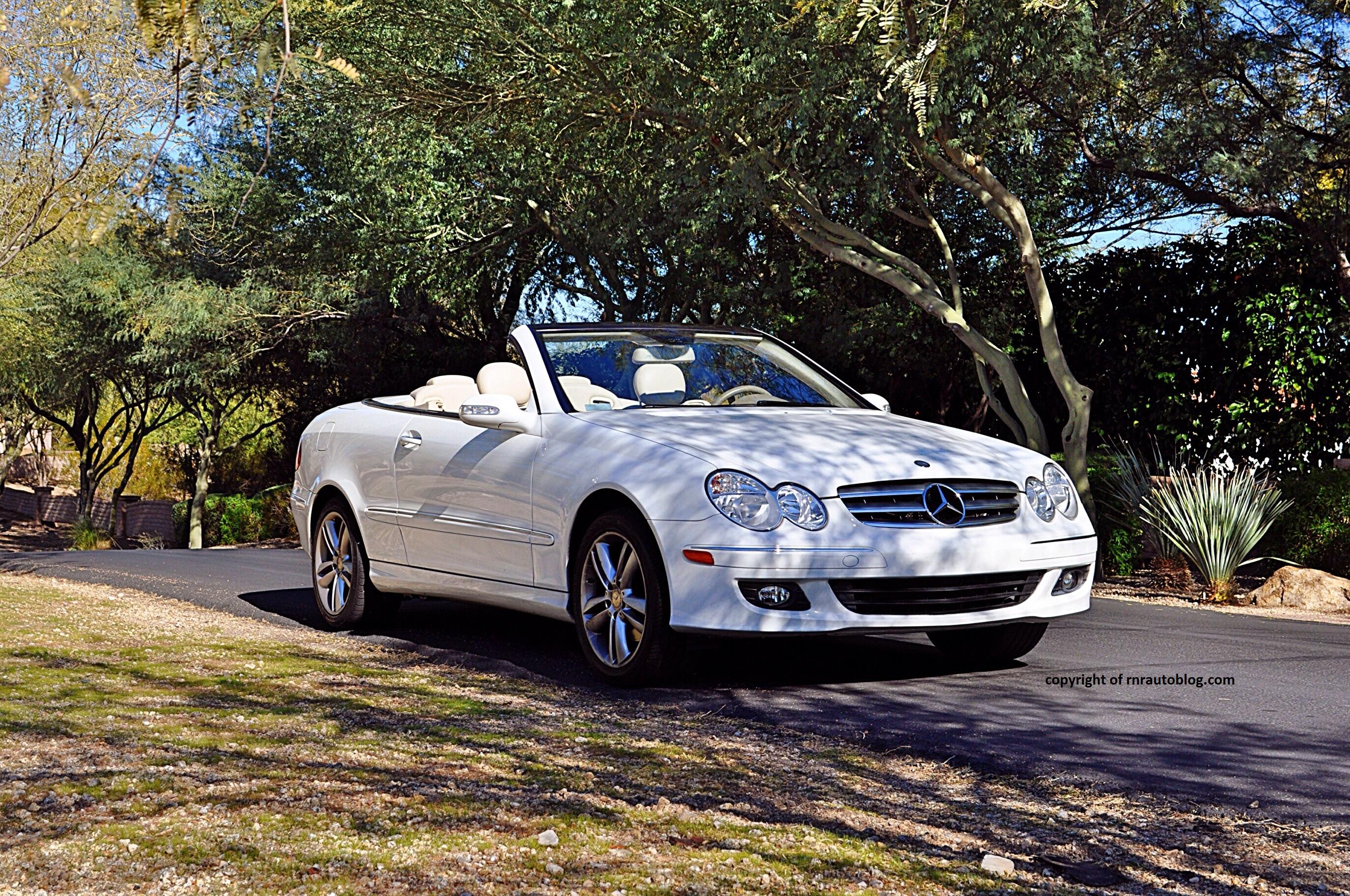 2008 mercedes benz clk350 convertible review rnr for 2014 mercedes benz clk350