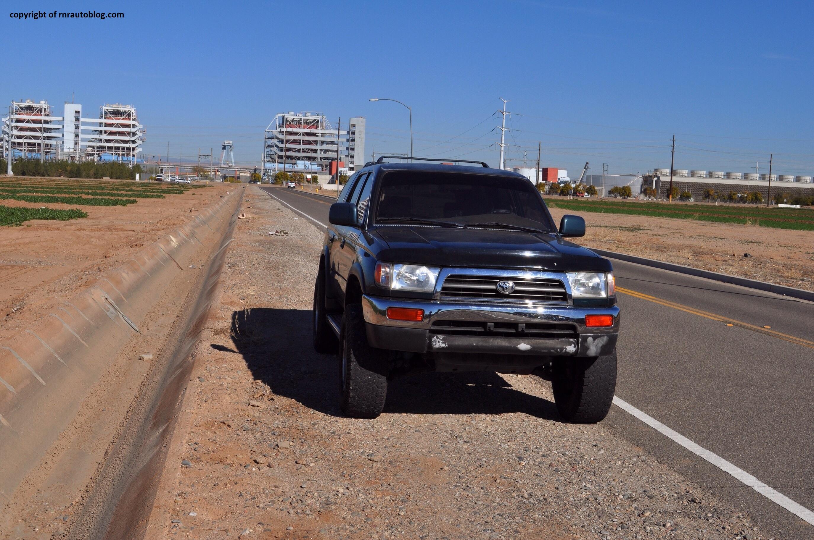 23+ 1997 Toyota 4 Runner Front Bumper
