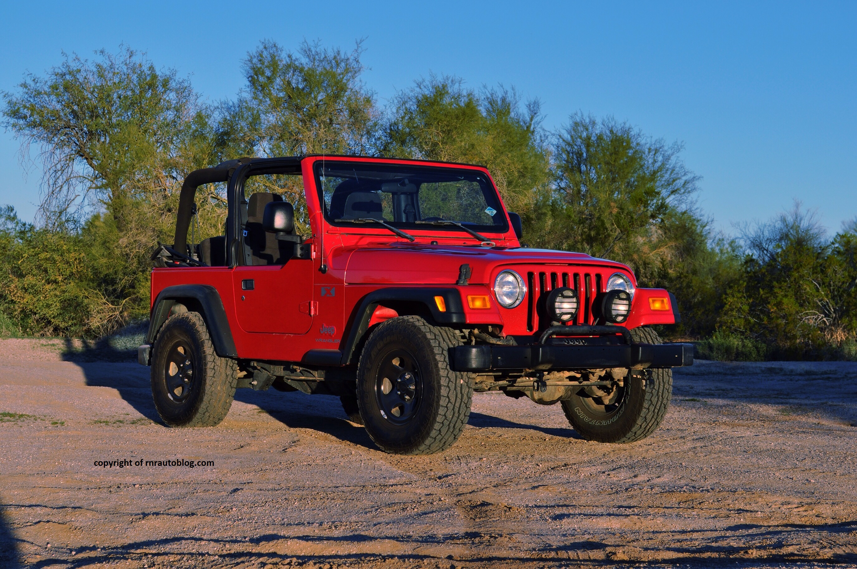 2005 Jeep Wrangler X Review Rnr Automotive Blog