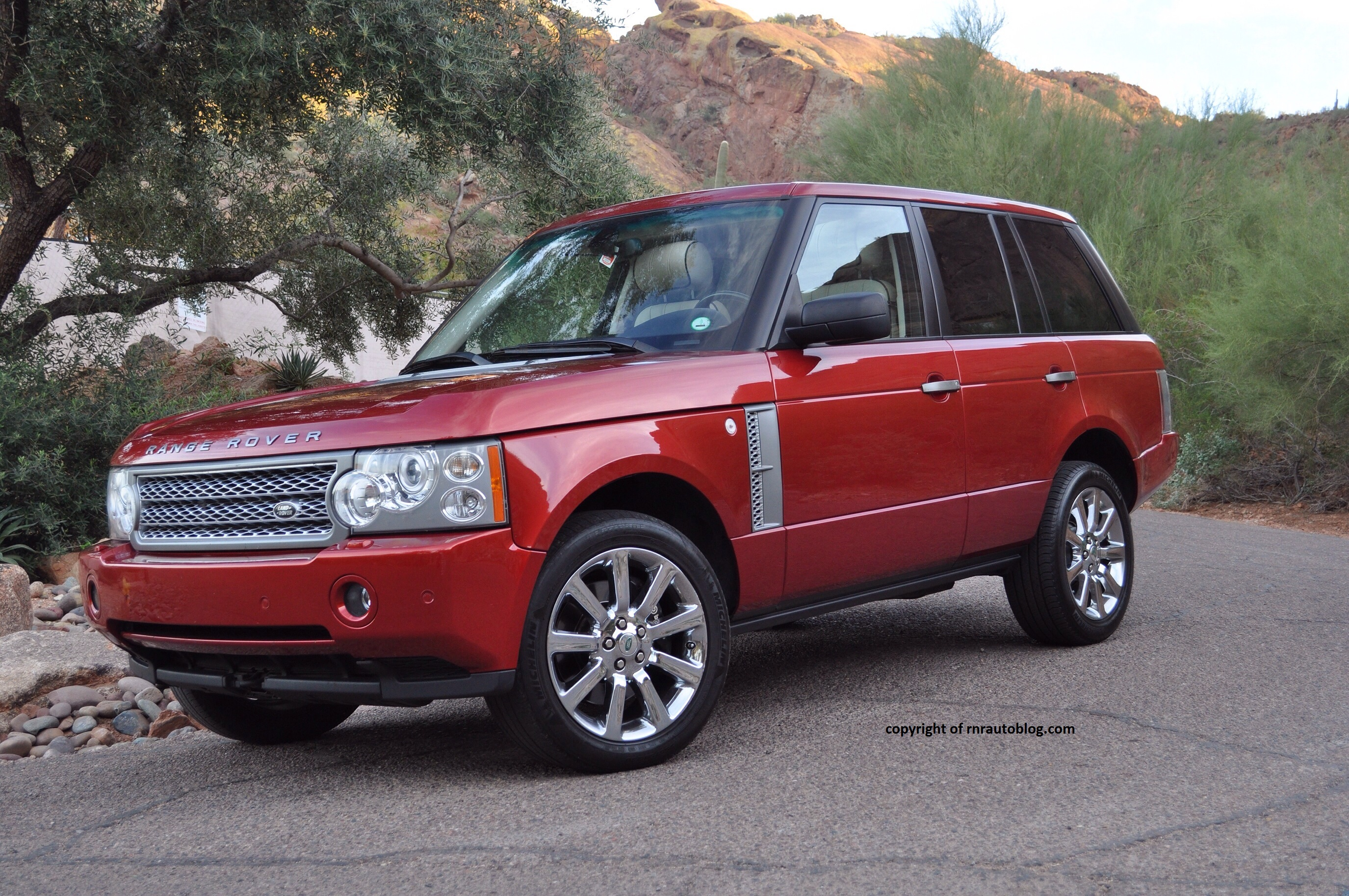 2006 land rover range rover supercharged review rnr automotive blog. Black Bedroom Furniture Sets. Home Design Ideas