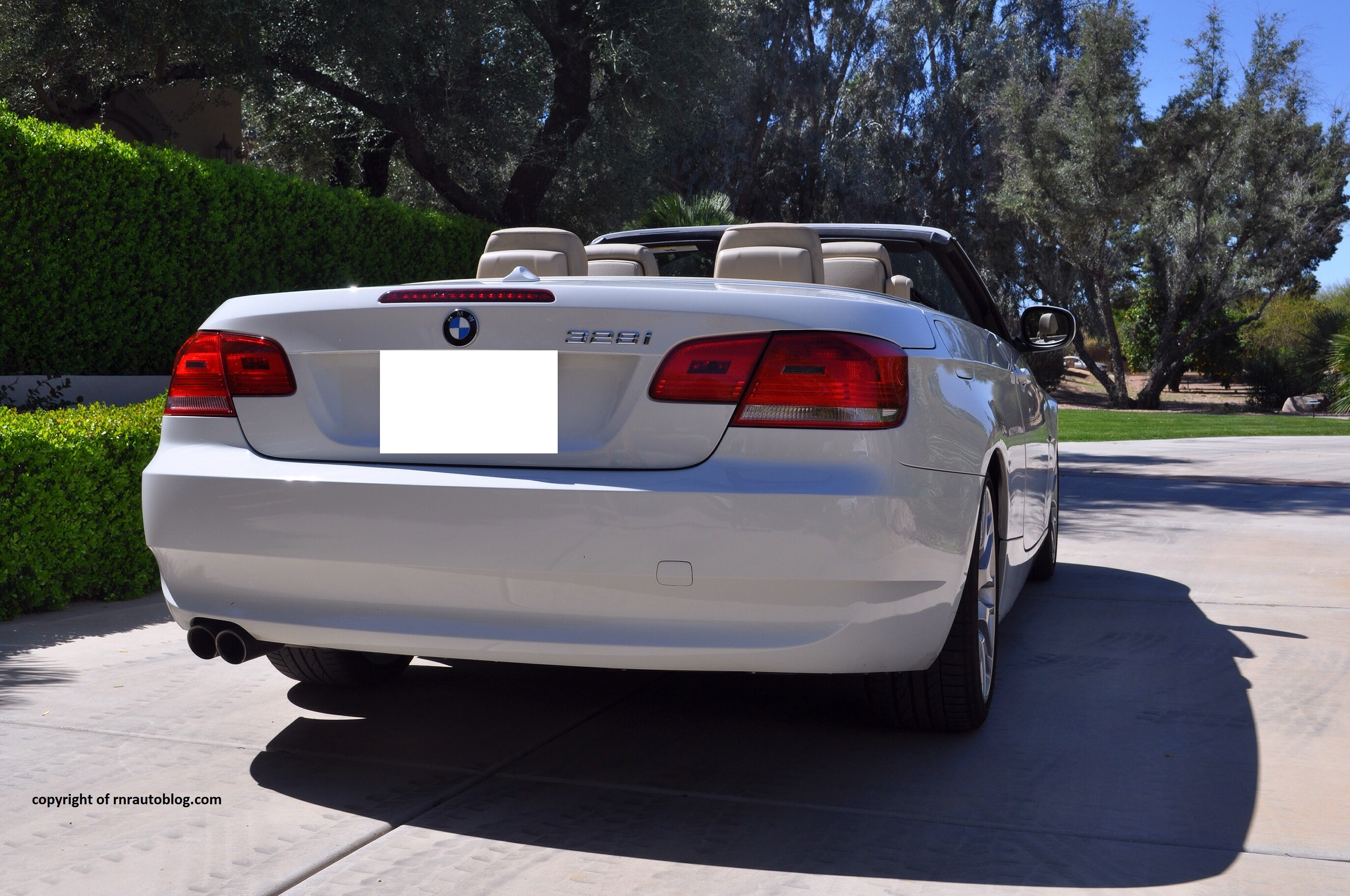 2009 bmw 328i convertible review | rnr automotive blog