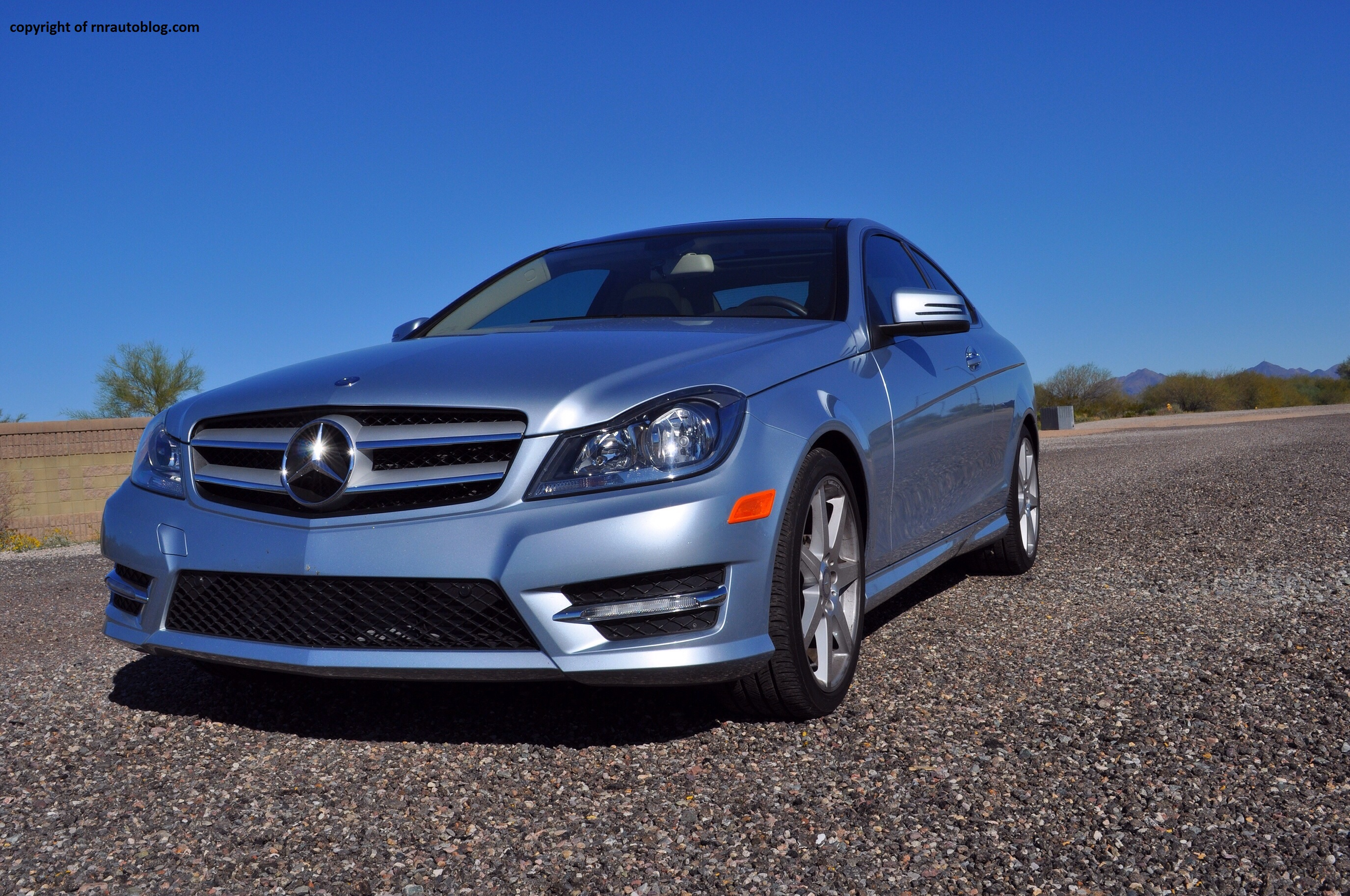 2012 mercedes benz c250 coupe review rnr automotive blog for 2012 mercedes benz c300 tire size