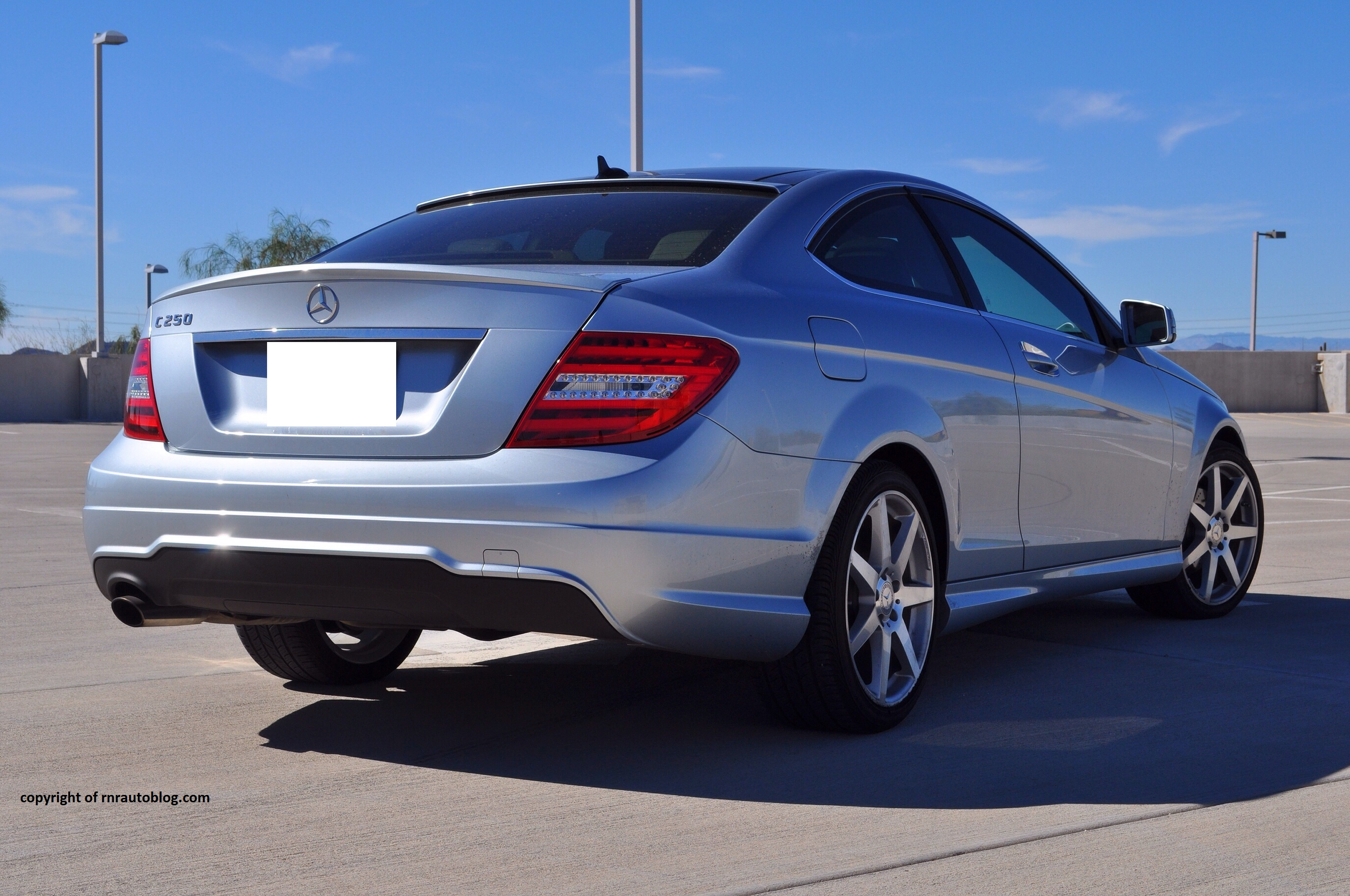 2012 Mercedes Benz C250 Coupe Review Rnr Automotive Blog