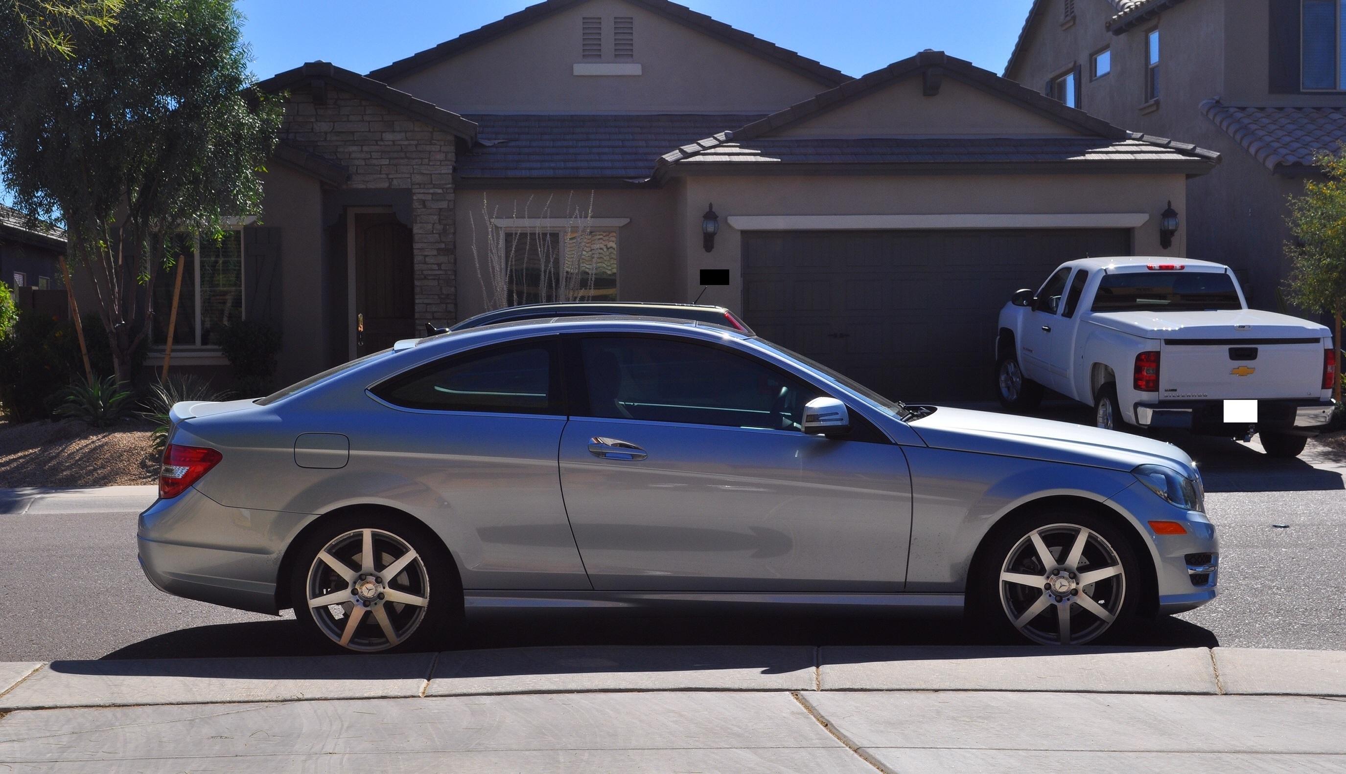 2012 Mercedes Benz C250 Coupe Review Rnr Automotive Blog