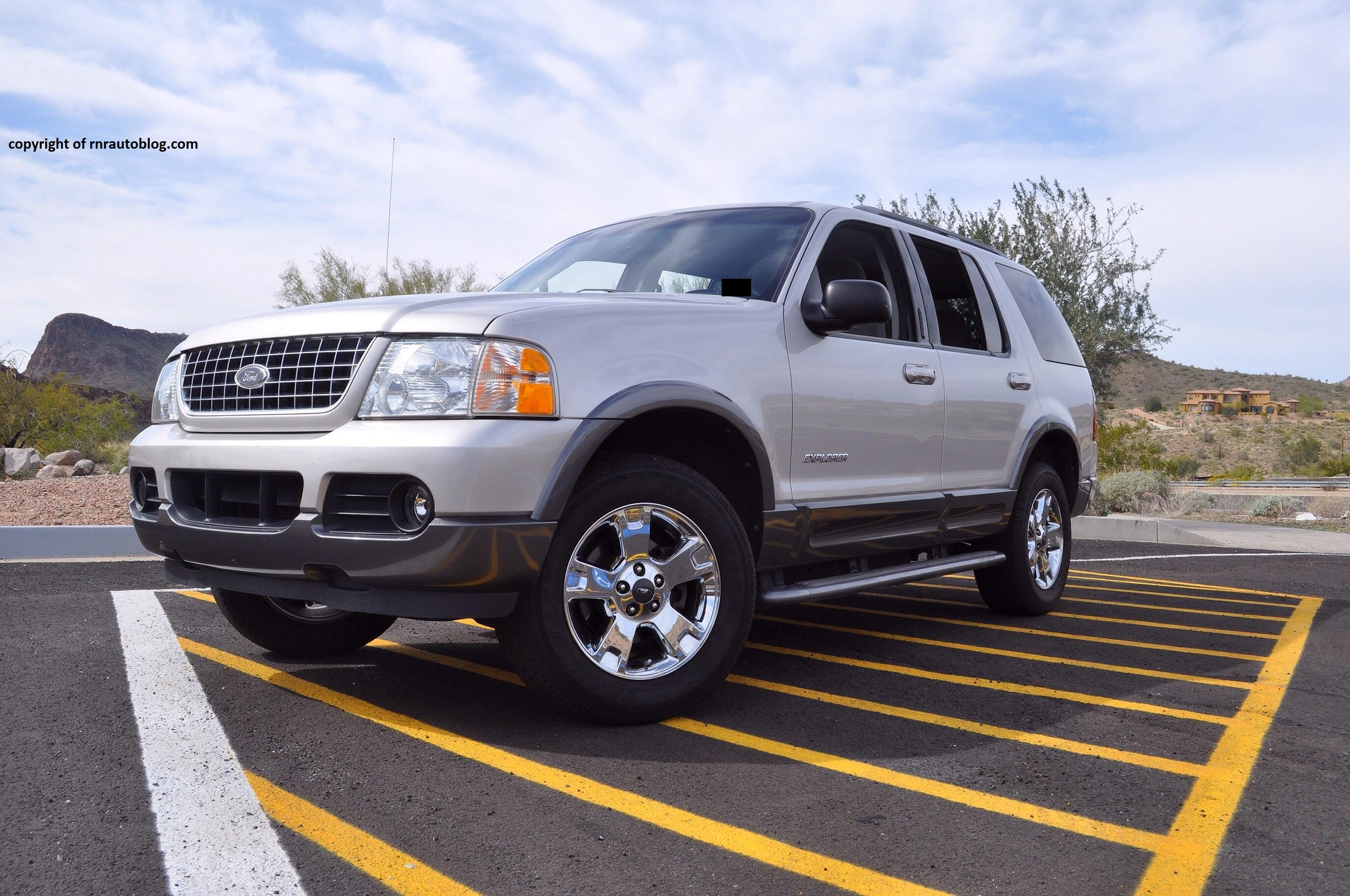 2004 Ford Explorer XLT Review | RNR Automotive Blog