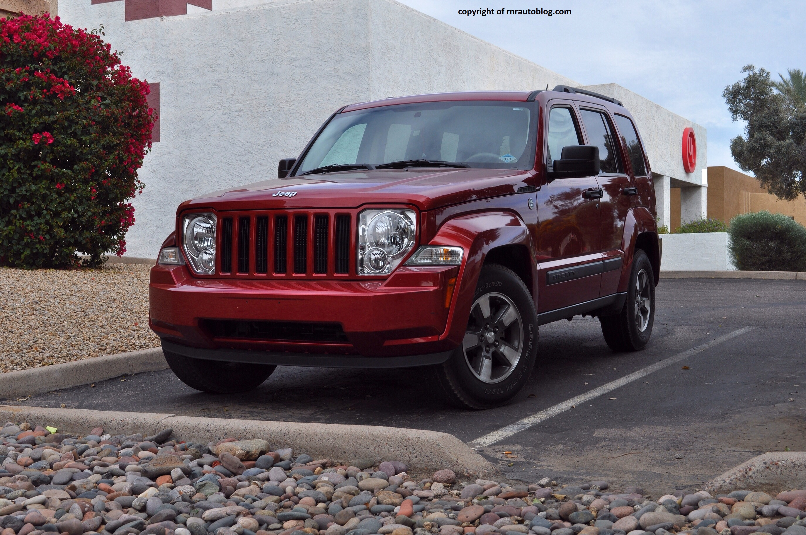 2008 Jeep Liberty Sport Review