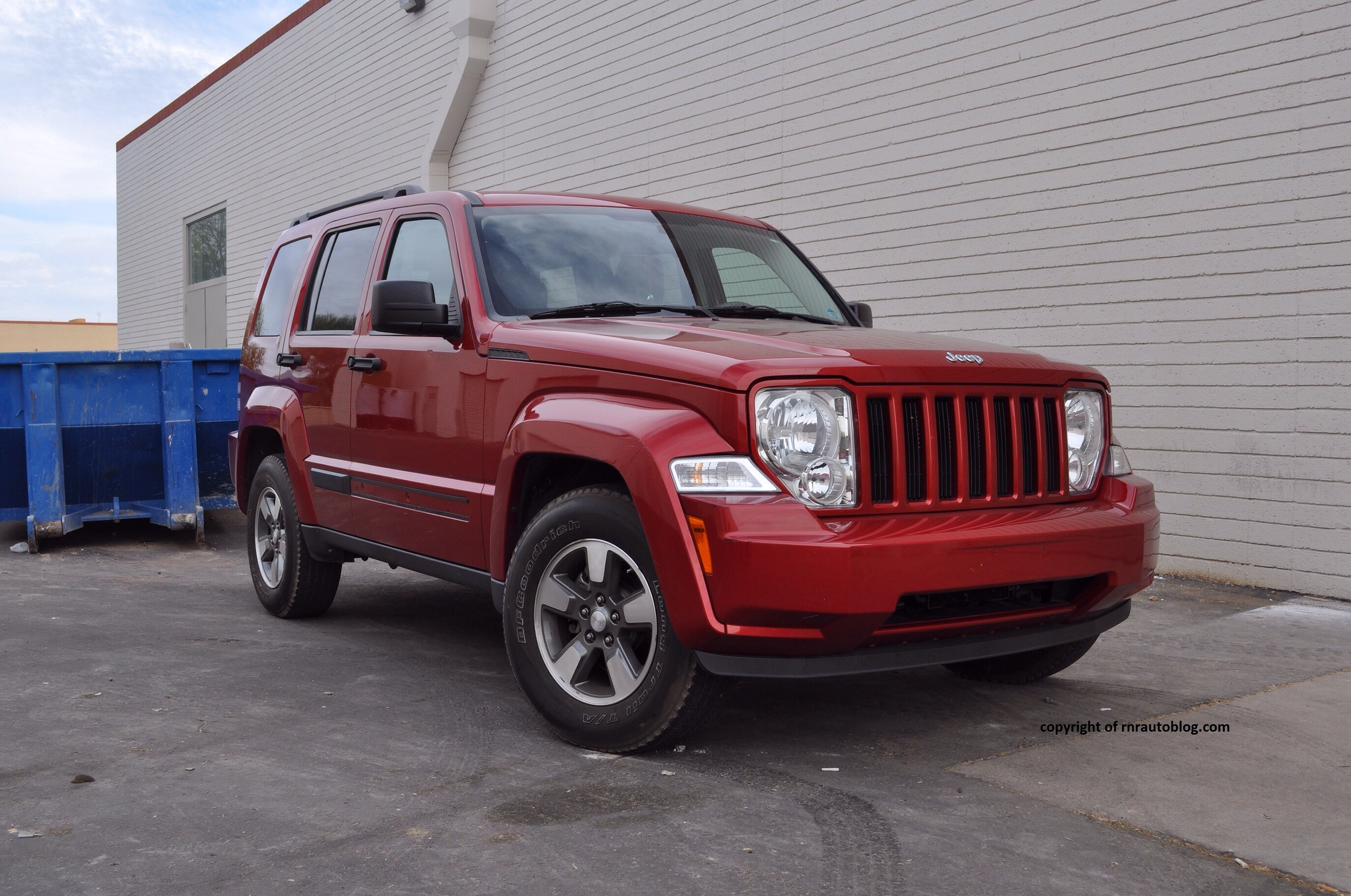 2008 jeep liberty sport review | rnr automotive blog