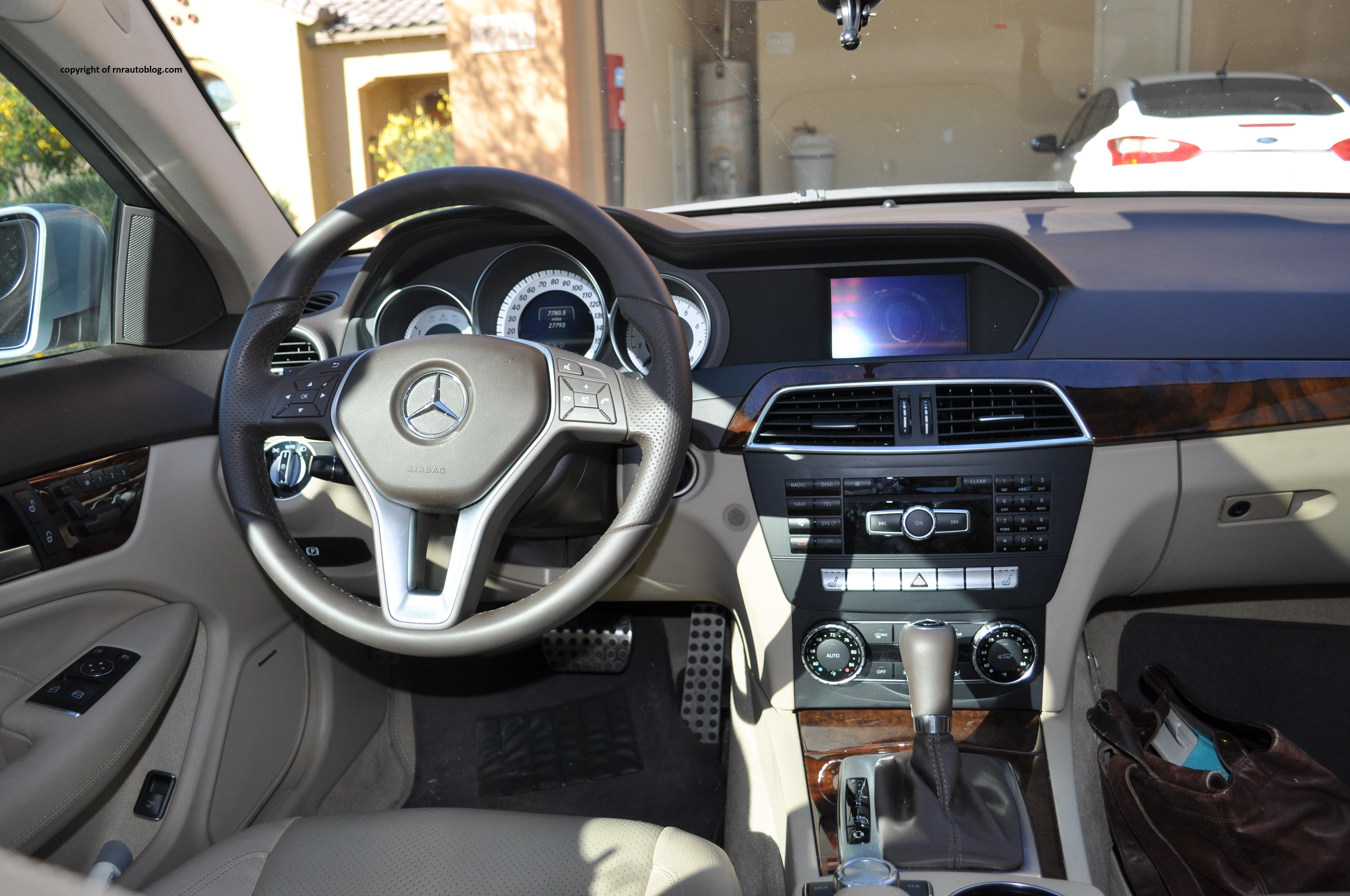 2012 Mercedes-Benz C250 Coupe Review | RNR Automotive Blog