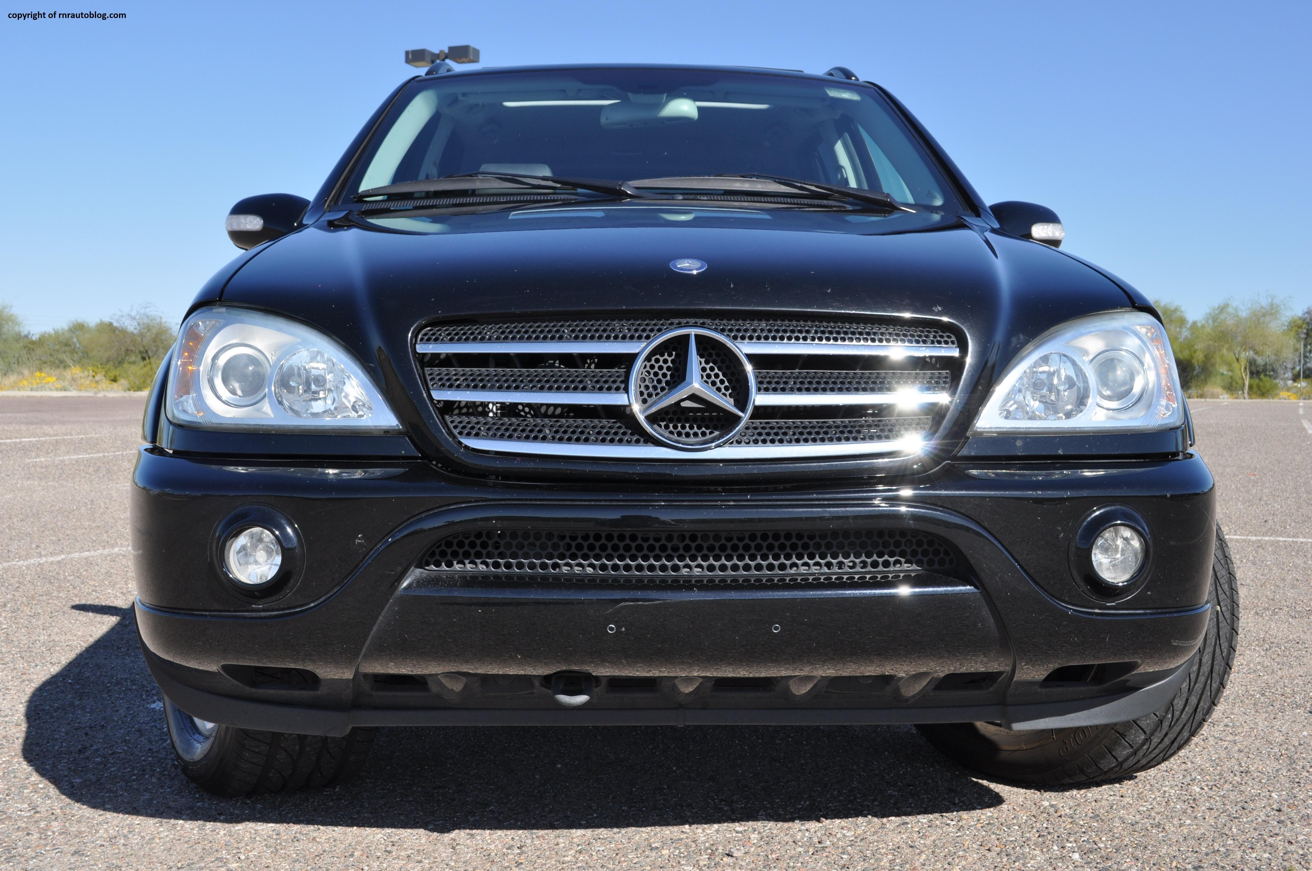 2004 mercedes benz ml500 review rnr automotive blog for Mercedes benz ml430