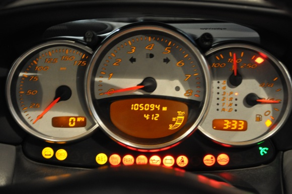 boxster gauges