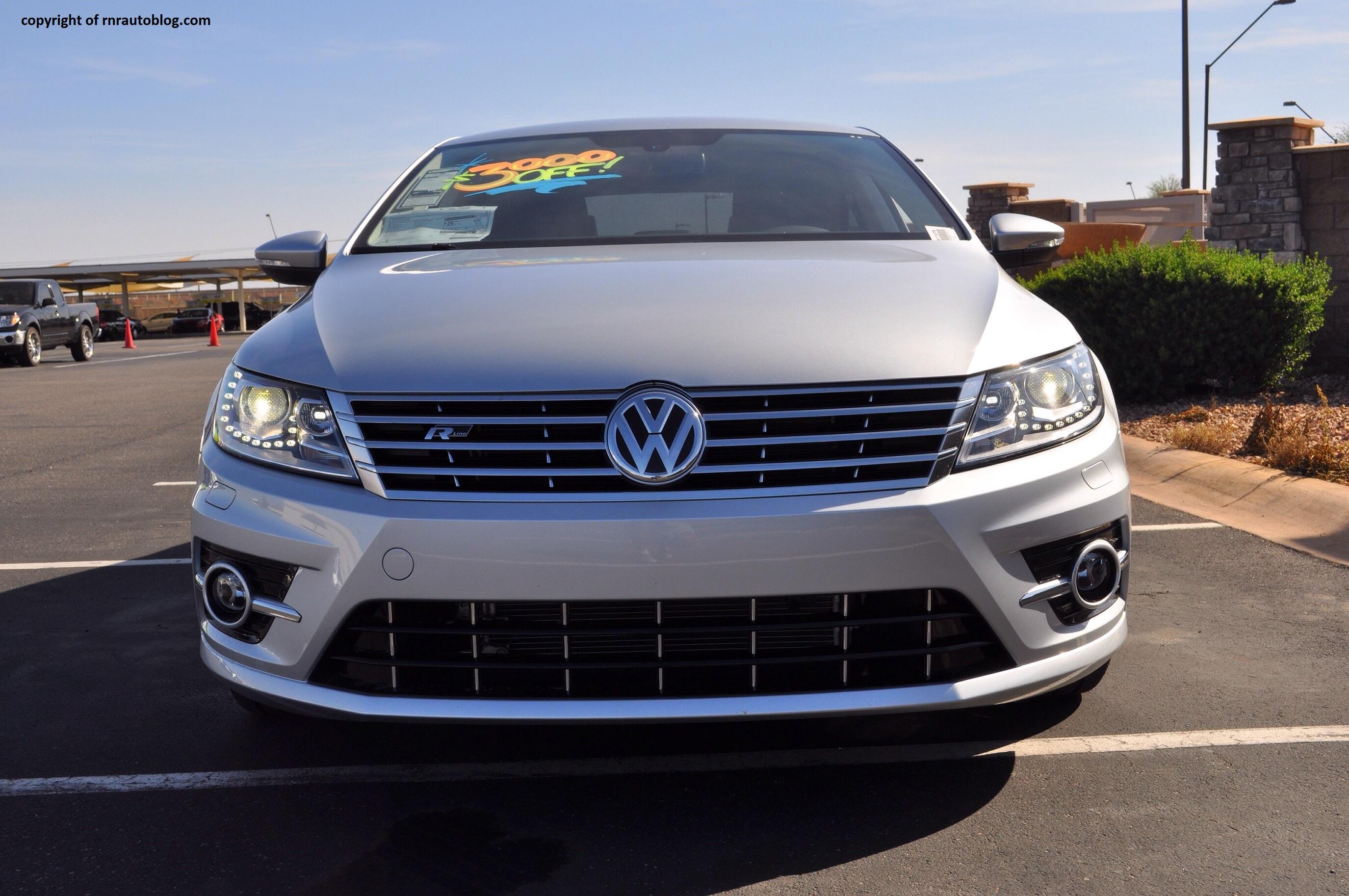 2014 Volkswagen Cc R Line Review Rnr Automotive Blog