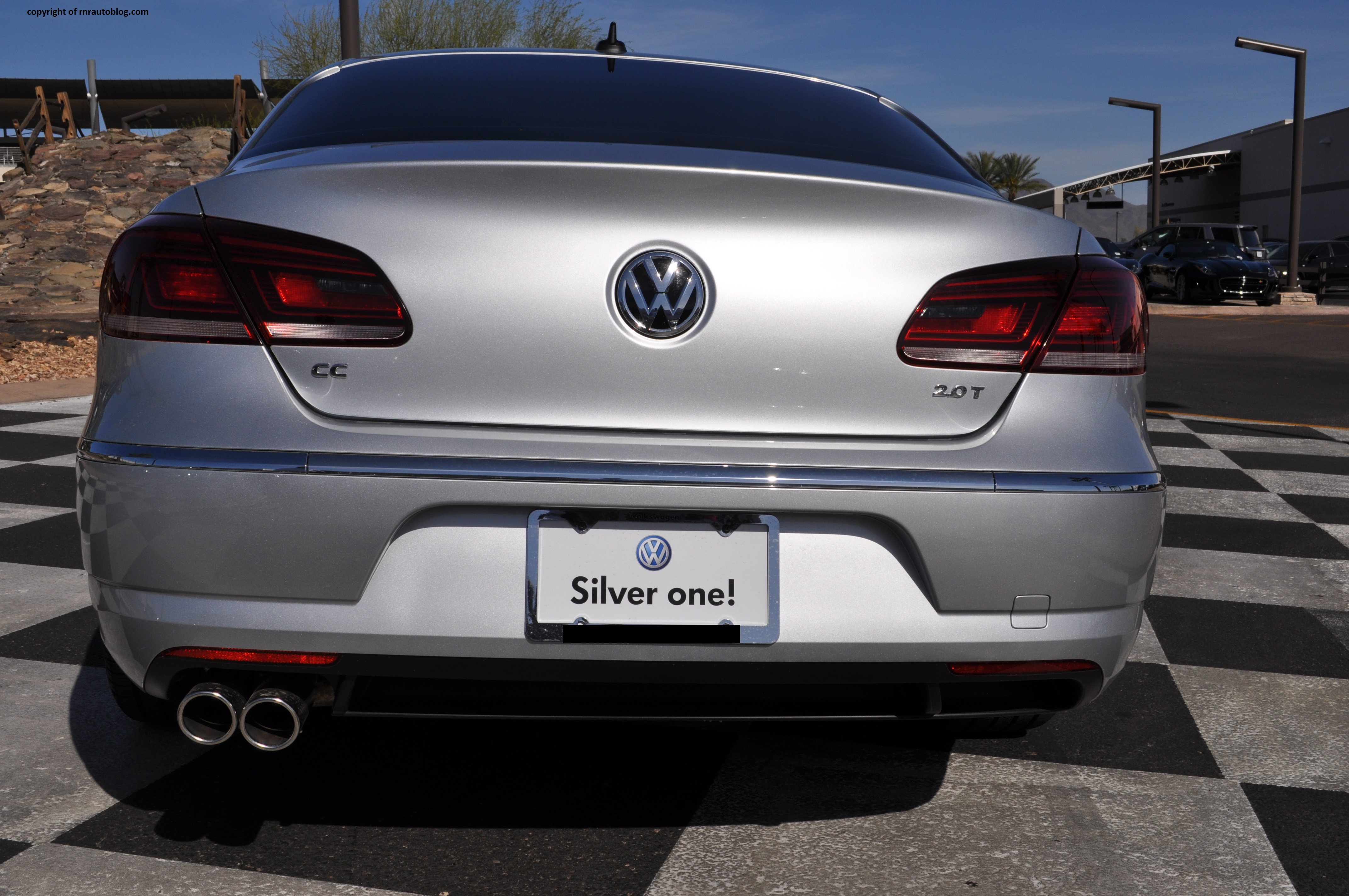 2014 Volkswagen Cc R Line Review Rnr Automotive Blog