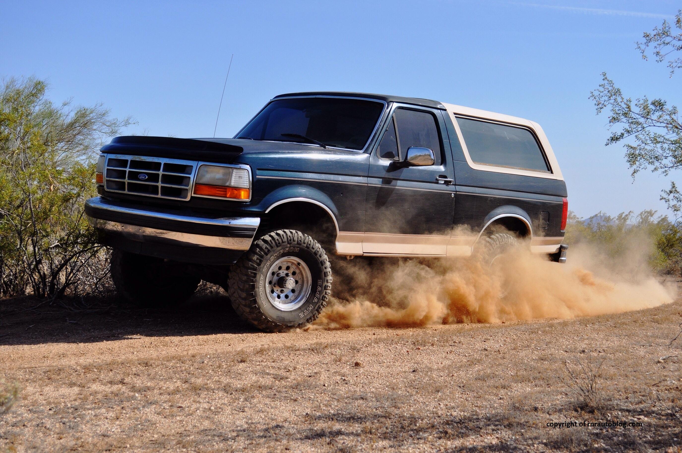 1993 Ford Bronco Ed Bauer Teaser