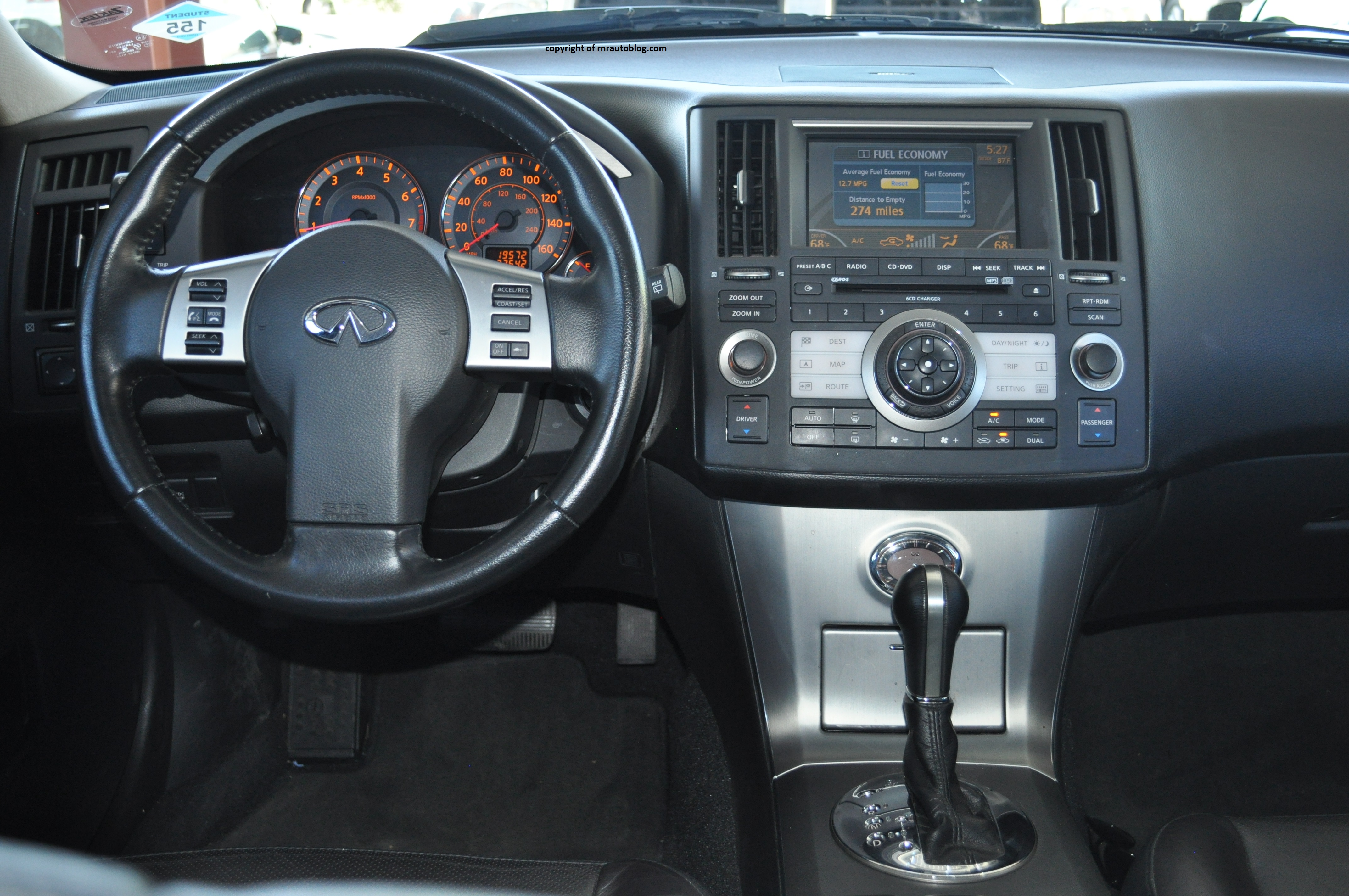 2008 infiniti fx35 review rnr automotive blog fx interior fx 6 vanachro Images