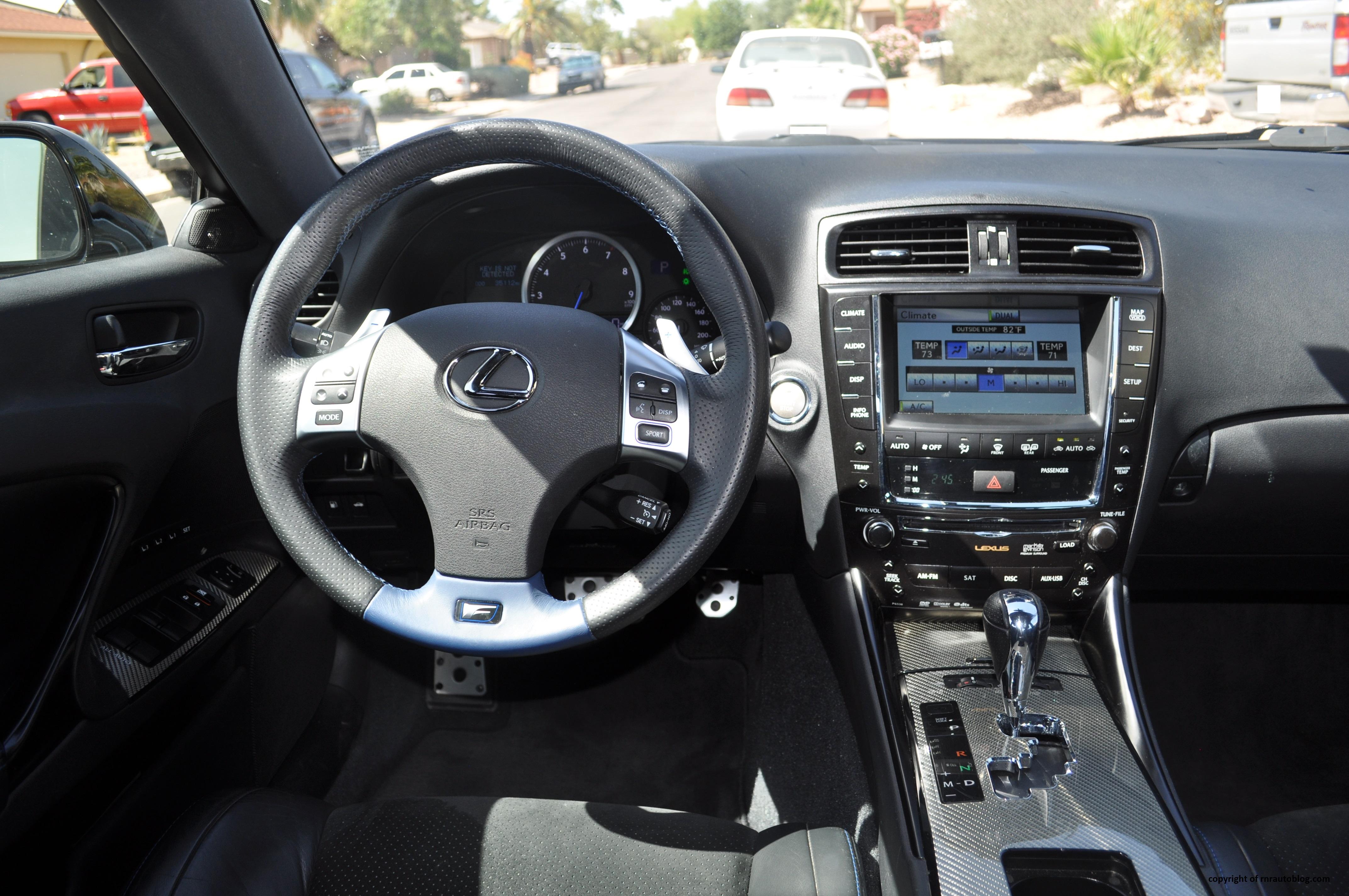 2011 Lexus IS F Review  RNR Automotive Blog