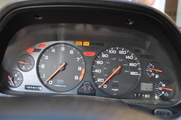 nsx gauges