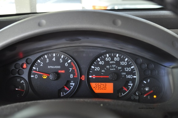 xterra gauges