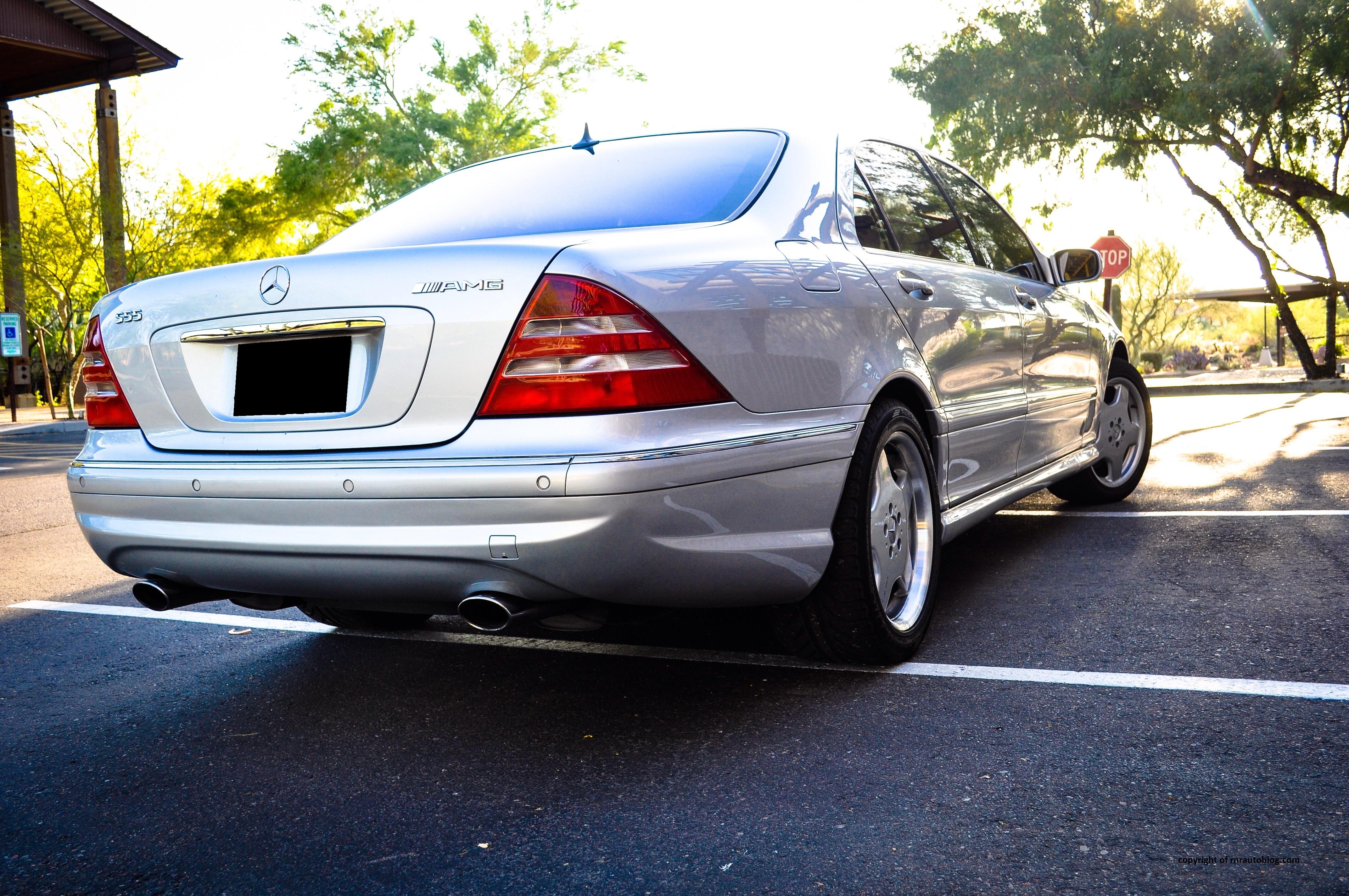 2001 mercedes benz s55 amg review rnr automotive blog s55 8 publicscrutiny Images