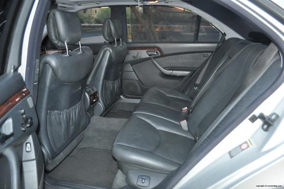 s55 rear seat