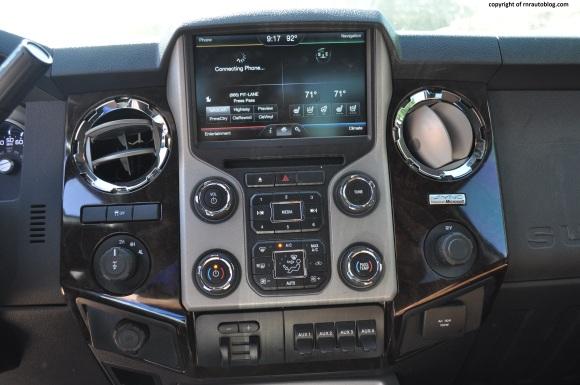f350 controls