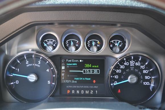 f350 gauges