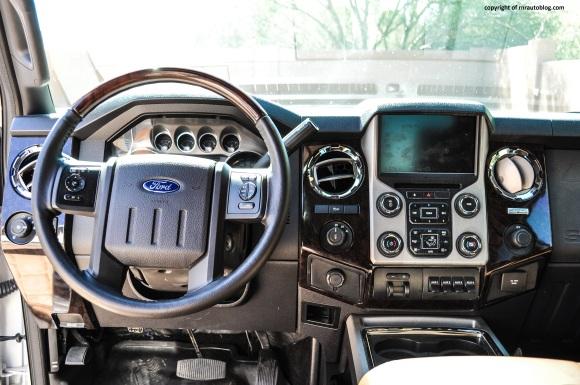 f350 interior