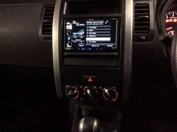 xtrail controls