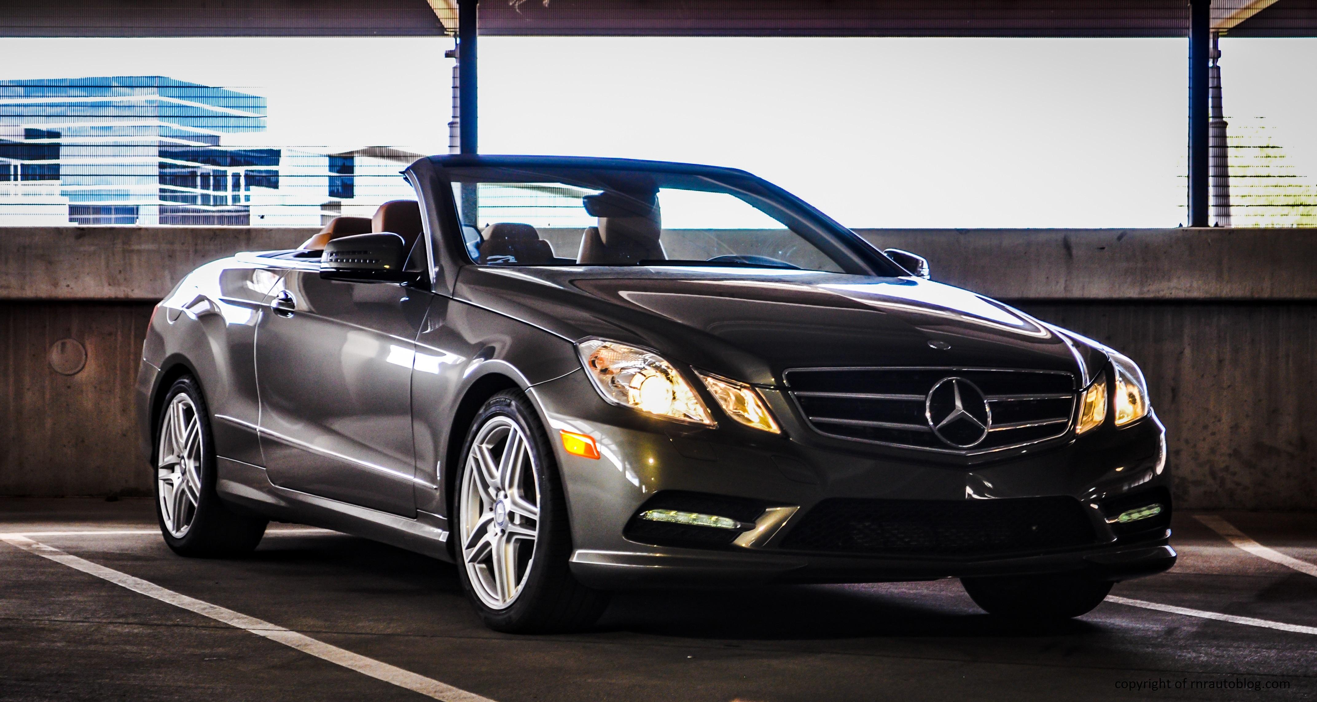 2013 Mercedes Benz E550 Convertible Review Rnr