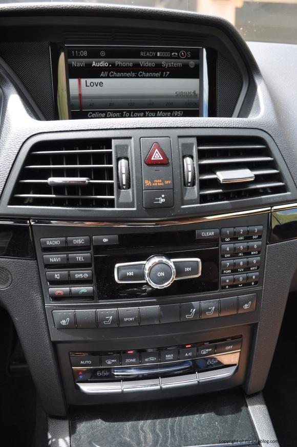 e550 controls