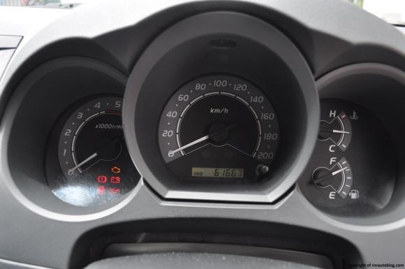 hilux gauges