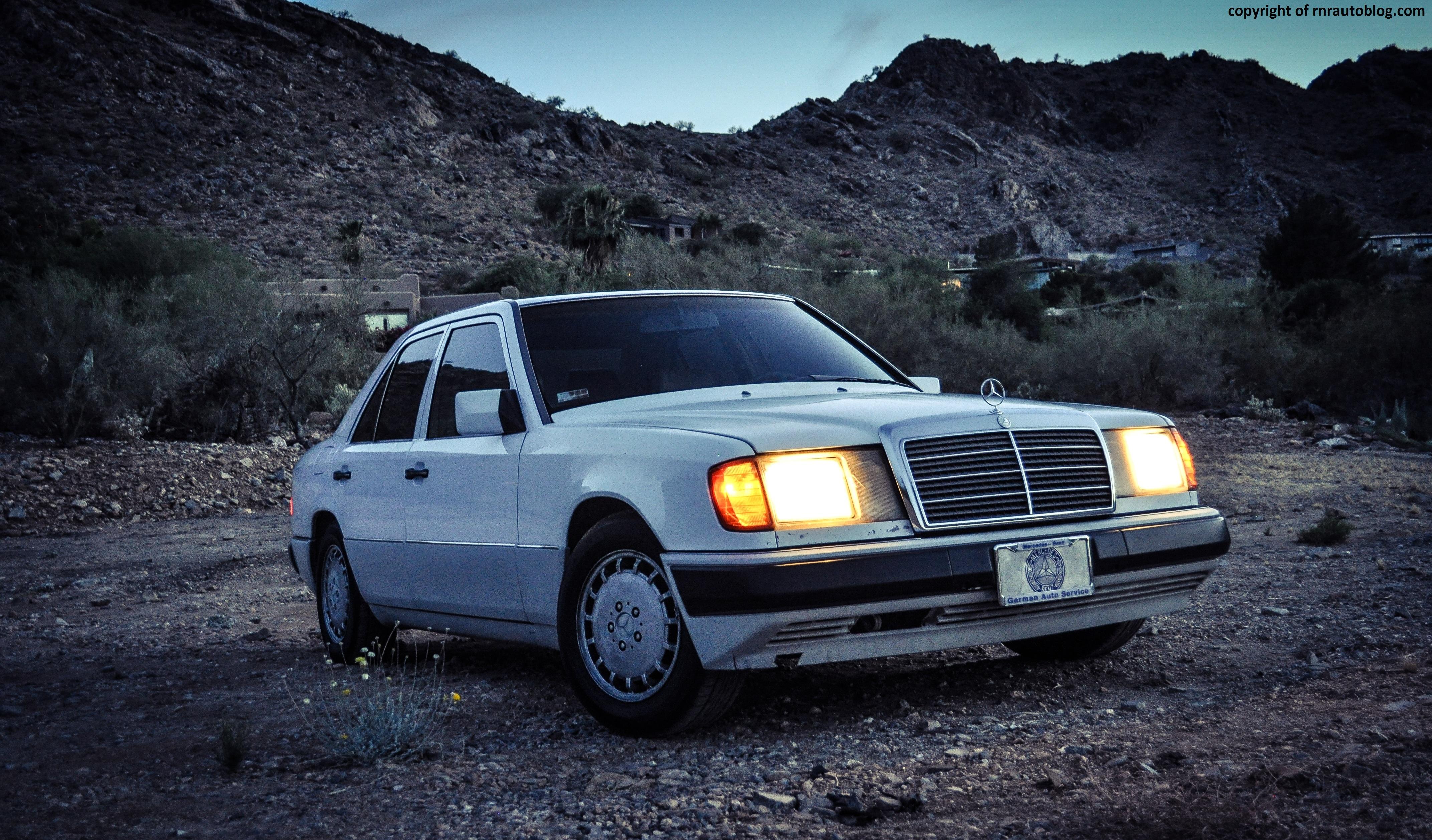 1990 Mercedes-Benz 300E 2.6 Review | RNR Automotive Blog