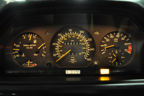 mercedes gauges