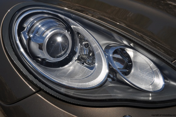 panamera headlight
