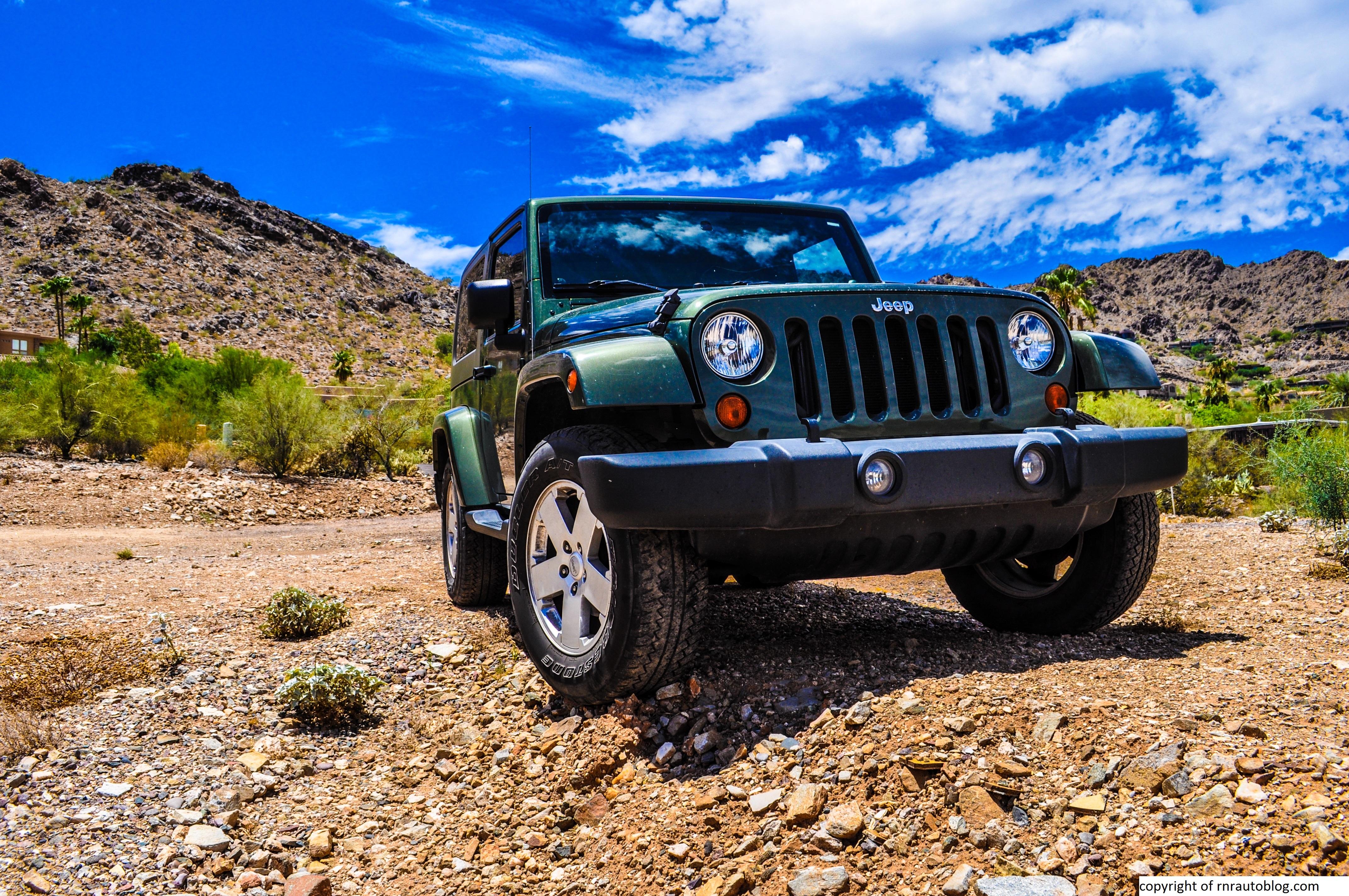 2007 Jeep Wrangler Sahara Review · Wrangler 22