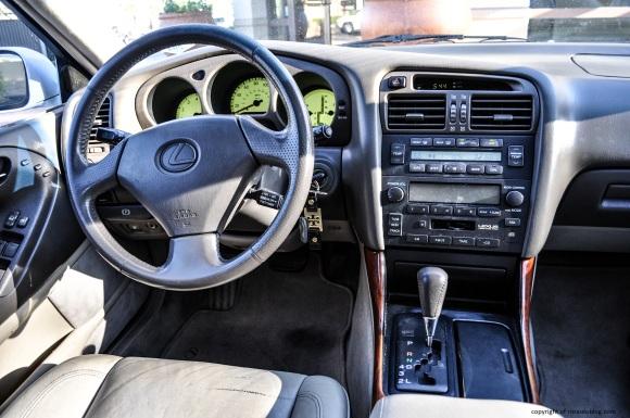 gs300 interior