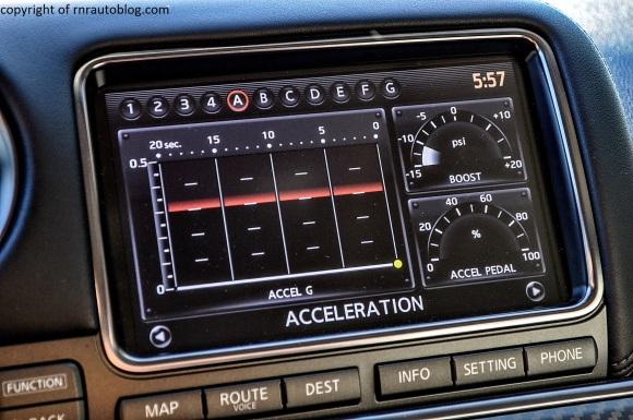 gtr acceleration graph