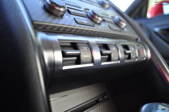 R mode buttons