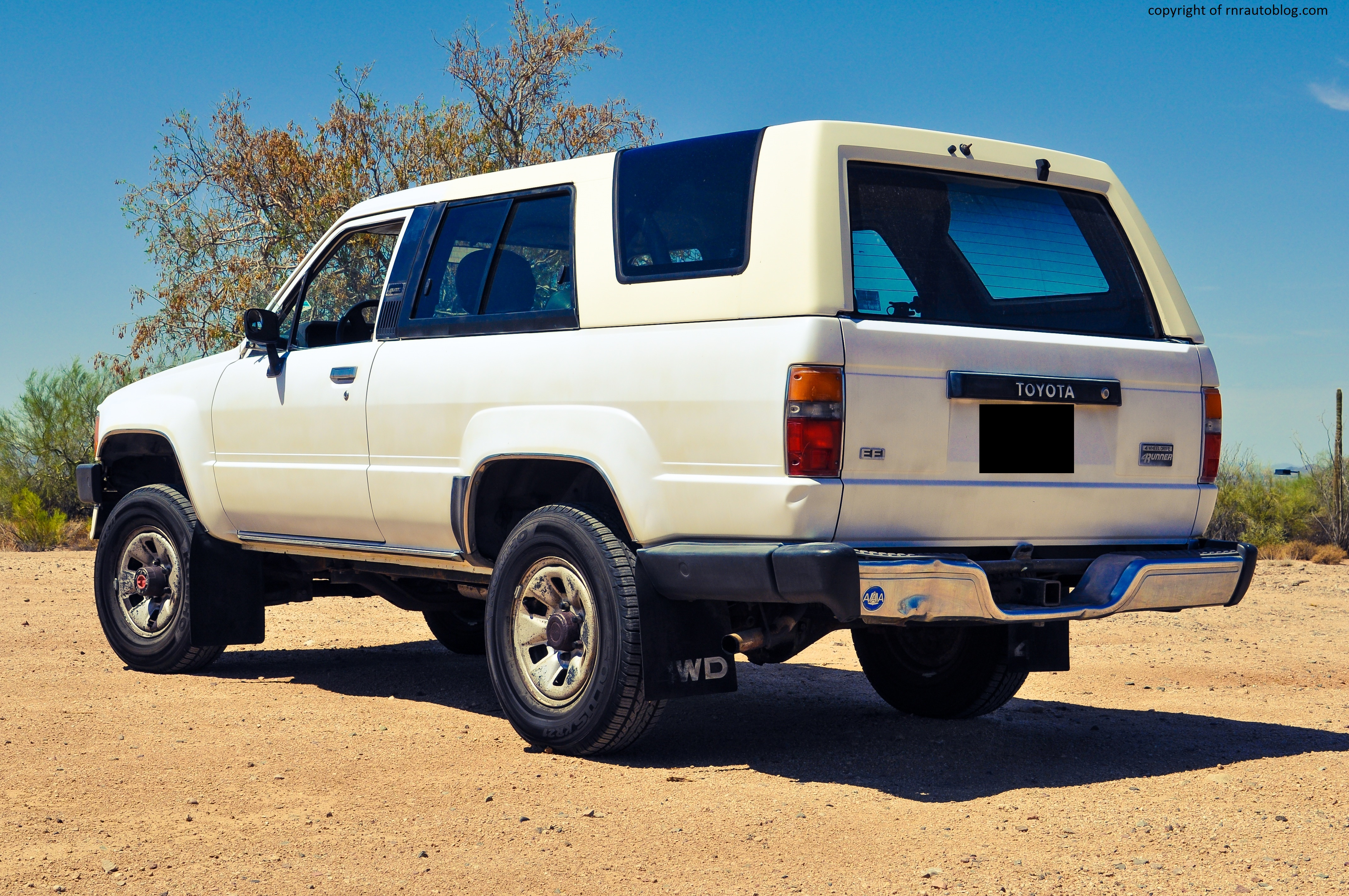 Old Toyota Land Cruiser >> 1986 Toyota 4Runner SR5 Review | RNR Automotive Blog