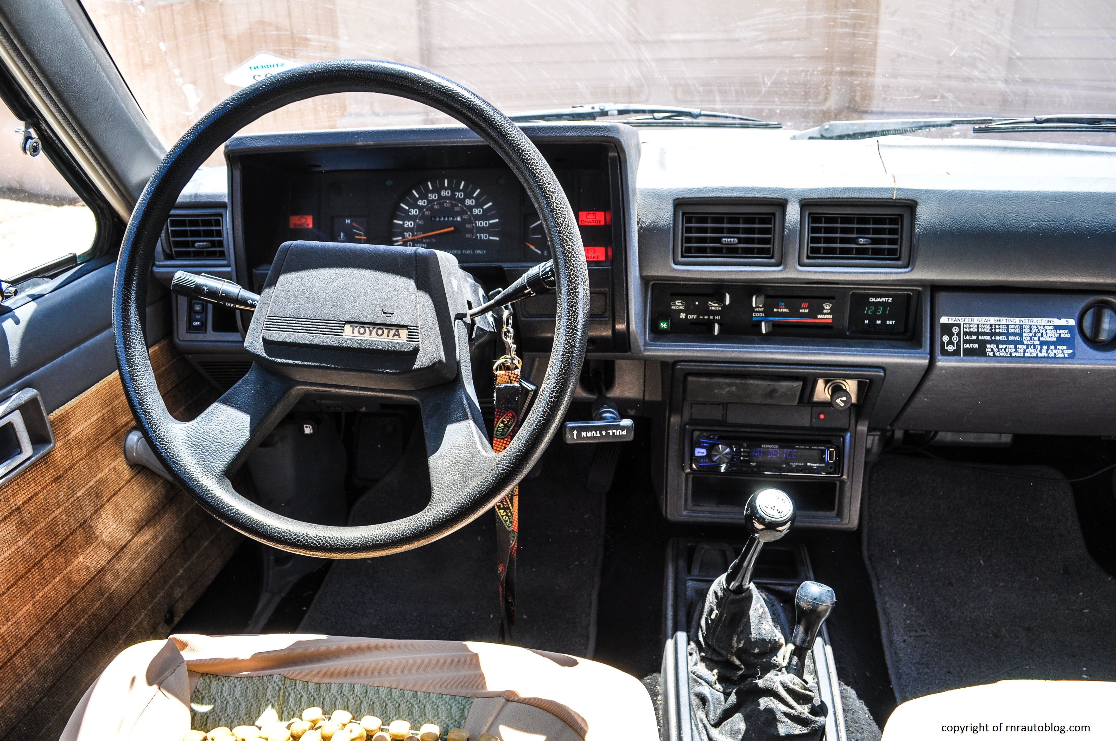 1986 toyota 4runner sr5 review rnr automotive blog for 1985 toyota pickup interior parts