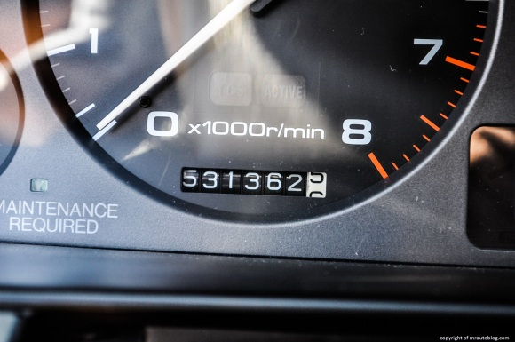 Coupe's mileage