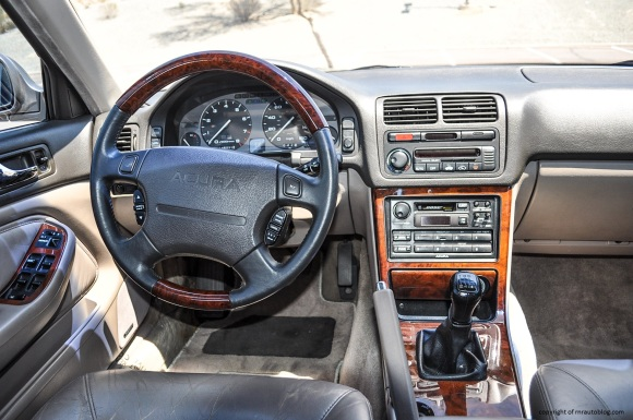 Sedan's interior