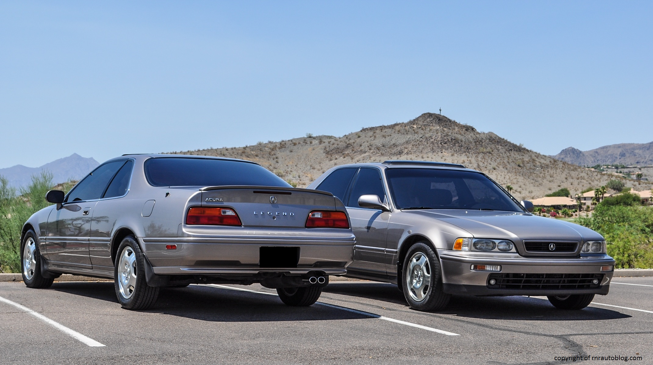 1994 acura legend ls coupe and gs sedan review rnr automotive blog