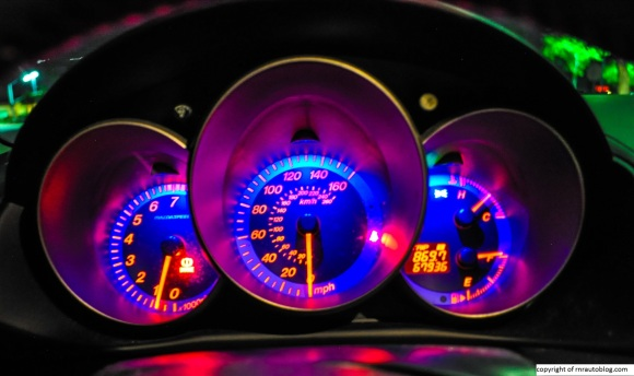 mazda gauges