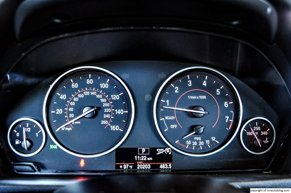 bmw gauges