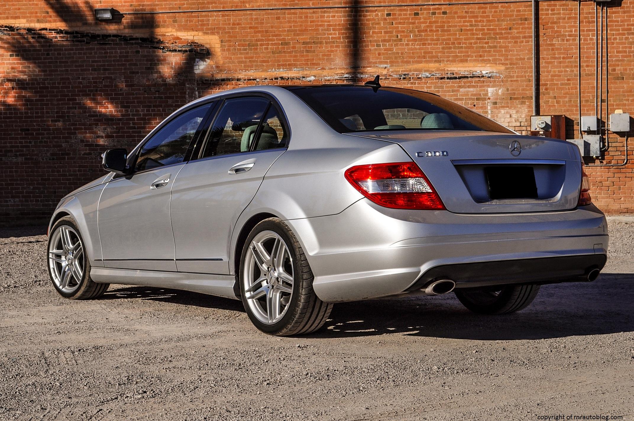 2009 Mercedes-Benz C300 Sport Photoshoot | RNR Automotive Blog