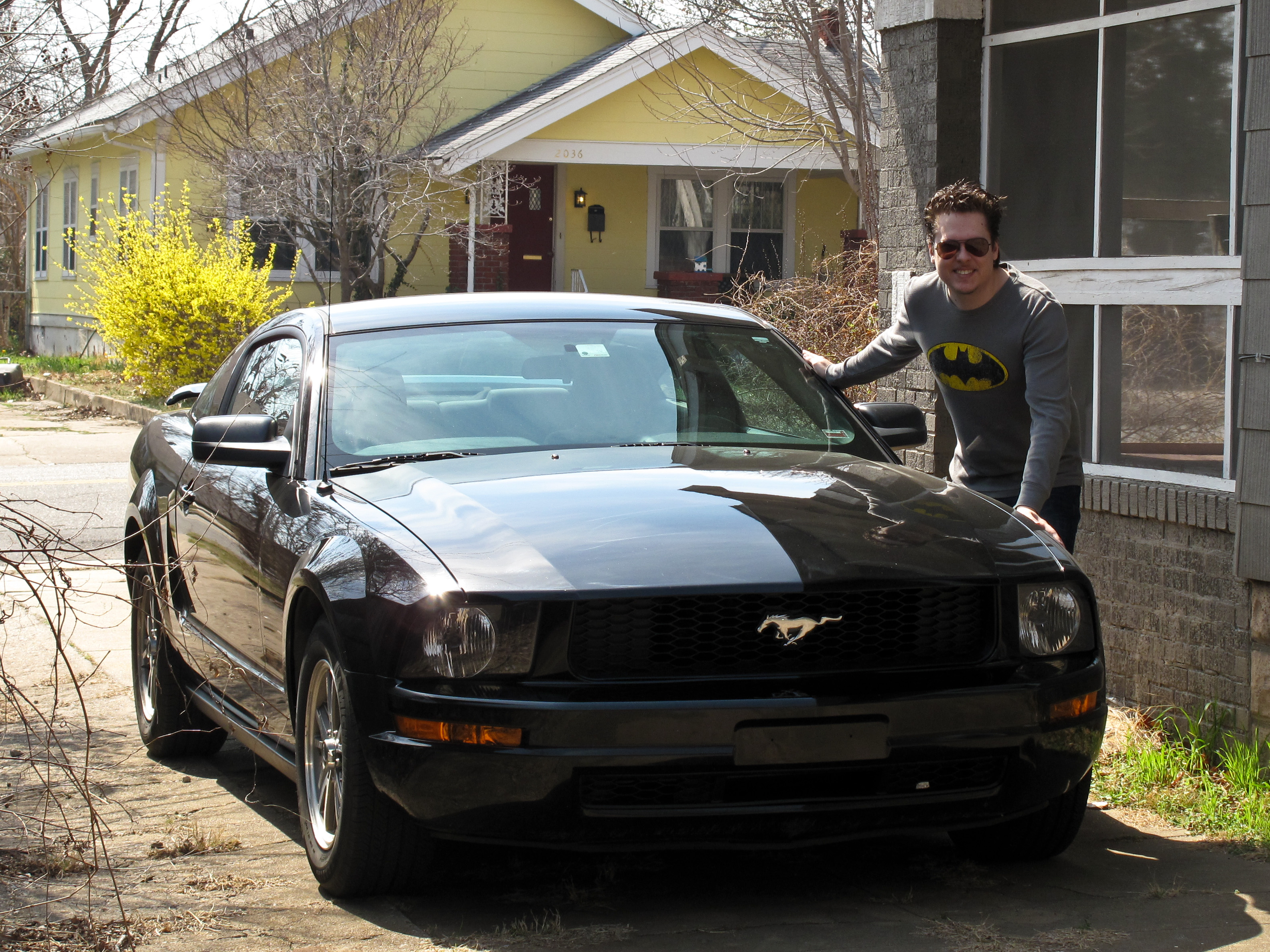 2005 ford mustang v6 automatic