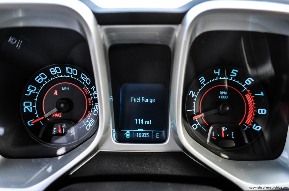 camaro gauges