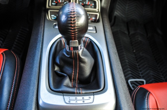 camaro gear shift
