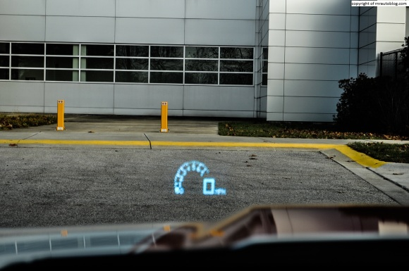 camaro heads up display